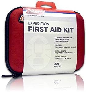 Coleman Expedition 205-Piece Purpose First Aid Kit
