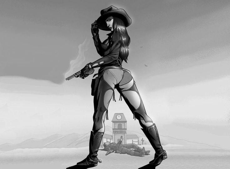 Sexy Lady Gunslingers 63