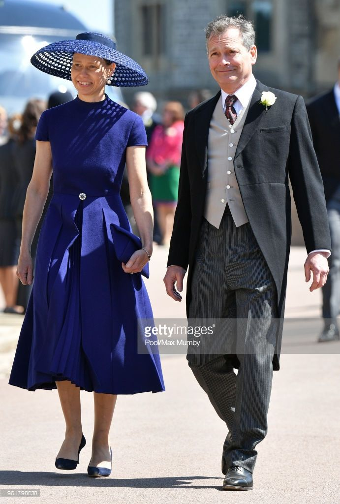 Lady Sarah Chatto and Daniel Chatto attend the wedding of Prince ...