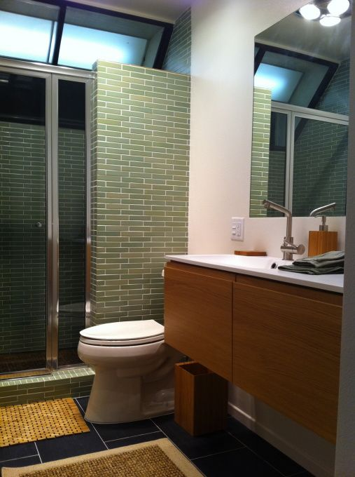 7 Best Mcm Bathroom Remodel Images On Pinterest Modern Bathroom Modern Bathrooms And Glass