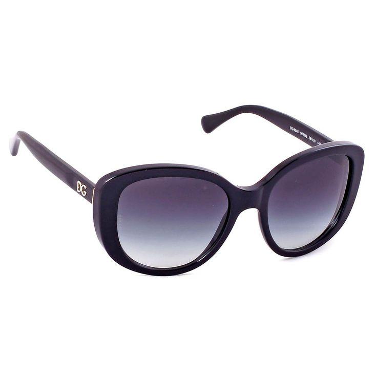 Μοντέρνα, θηλυκά και με διάσημη υπογραφή, αυτά είναι τα γυαλιά ηλίου Dolce&Gabbana 4248. Σε σχήμα cat eyes και με μαύρο πλαίσιο τα γυαλιά ηλίου Dolce&Gabbana 4248 501/8G αποτελούν την πιο must επιλογή για τις γυναίκες που θέλουν να ξεχωρίζουν. Οι φακοί είναι οργανικοί, σε χρώμα γκρι ντεγκραντέ, προσφέροντας την μέγιστη προστασία των ματιών σας. #optofashion #sunglasses #DolceGabbana