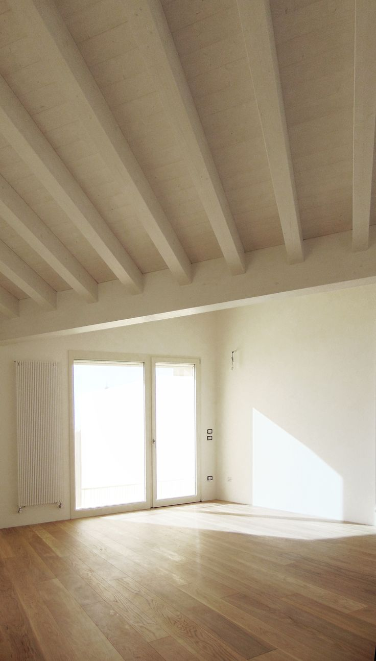 A studio with flying roof