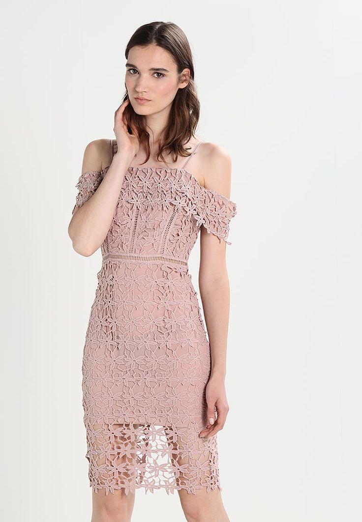 New Look PREM MILLIE LACE - Sukienka letnia - mid pink - Zalando.pl