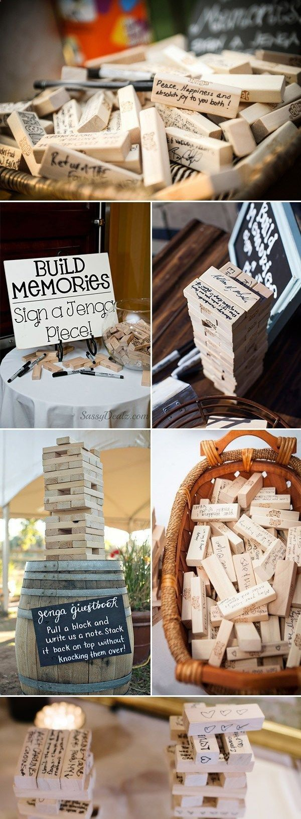 44 Unique Wedding Guestbook That You Can Make