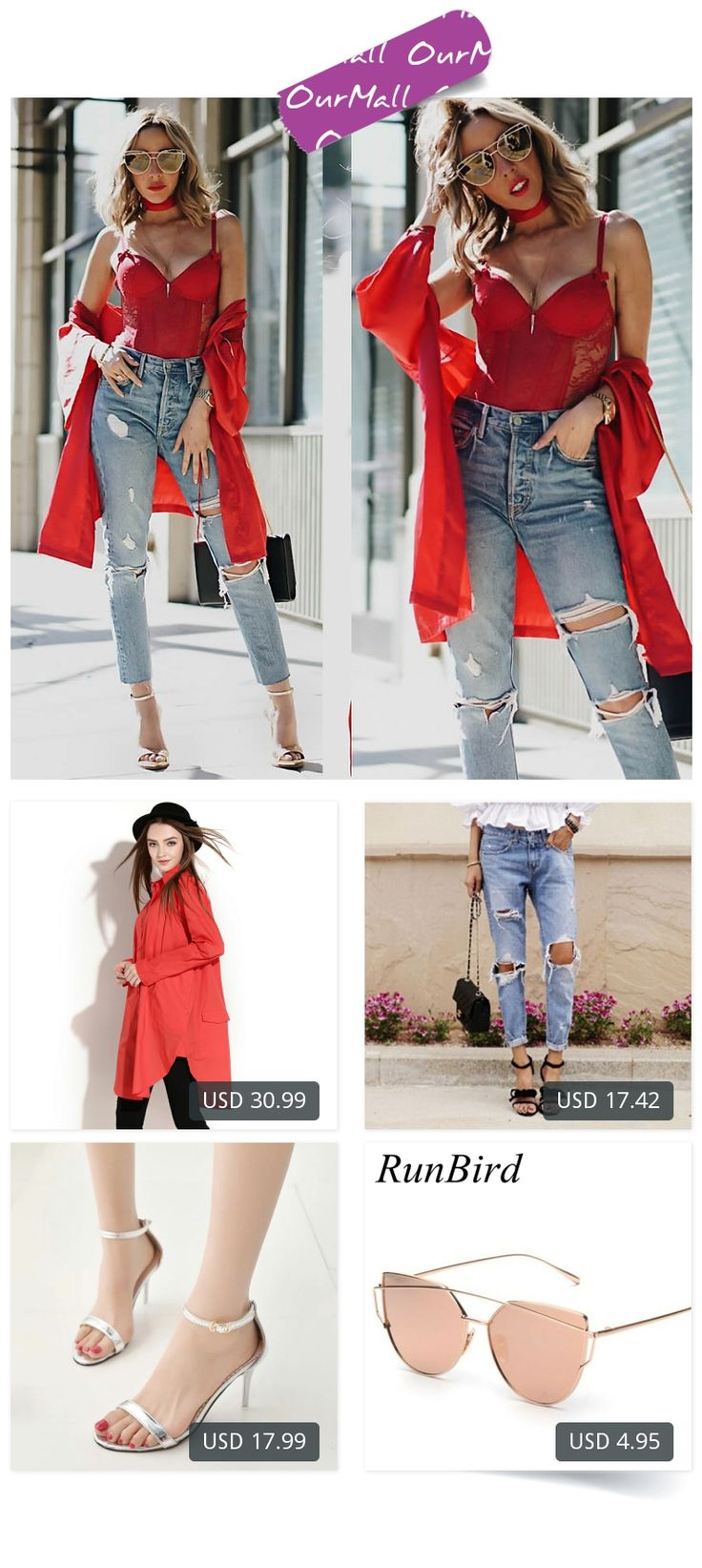 This is Maria De La Cruz's buyer show in OurMall;  1.2017 Spring Women Blouses Plus Size Women Clothing Pure Color Long-Sleeved Women Shirt 2. Casual Holes Ripped Jeans For Women Denim Blue Trousers Female Retro Denim Korean Style Pencil 3.Women Sandals White Wedding Shoes Open T... please click the picture for detail. http://ourmall.com/?Vnmeee   #cardigan #cardiganforwomen #femalecardigan #woolcardigan #cardiganmujer #cardigankimono #cardigan #cardiganvintage