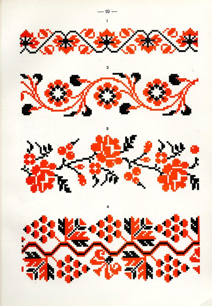 https://flic.kr/p/fQsnyh | Белорусский народный орнамент - 1953_67 | Belarusian ethnic embroidery