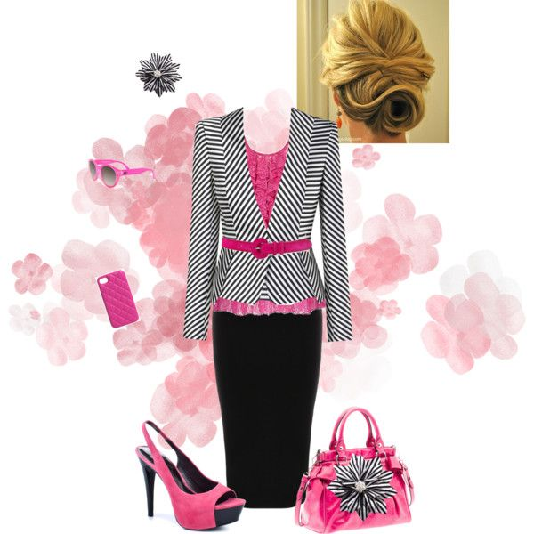 """Pop of Color"" by estes9011 on Polyvore"