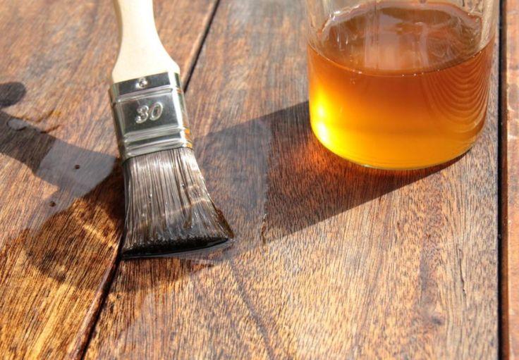 Pokost lniany – naturalna ochrona   Produkty Vidaron - skuteczna ochrona drewna