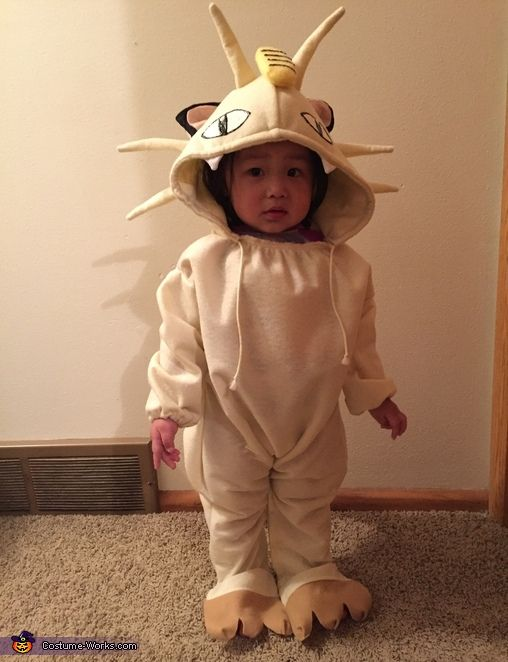 Meowth from Pokemon - Halloween Costume Contest via @costume_works