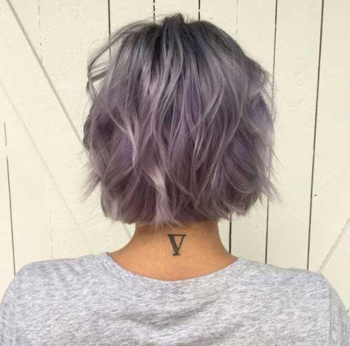 Verschiedene Ideen für kurze Haarfarben Kurze Frisuren & Frisuren   2018 - 2019 #shorthairideas