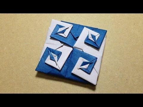 ハート 折り紙 : 折り紙コースター作り方簡単 : jp.pinterest.com