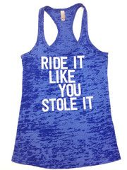 Ride It SPIN Tank - like the words, just not the style