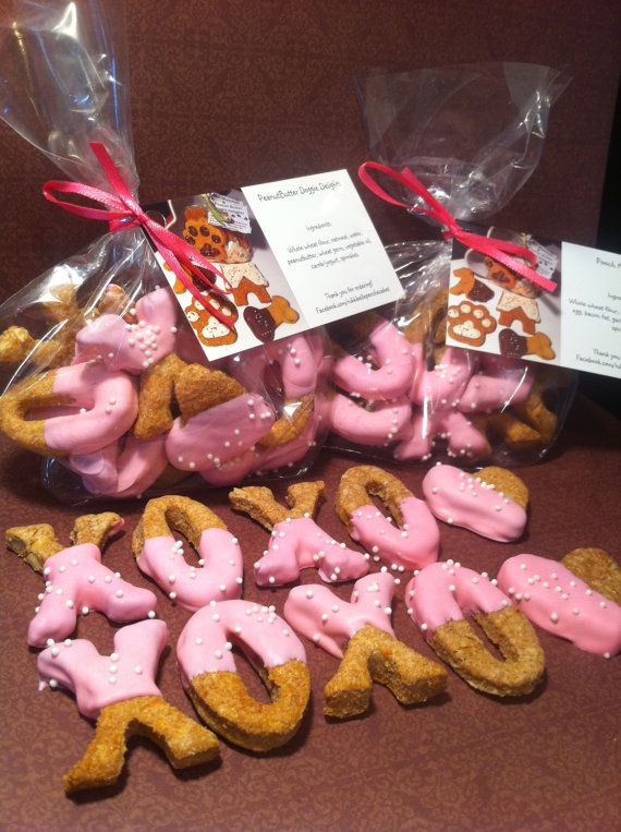 XOXO+Valentines+Day+Dog+Cookies/treats+Made+Fresh+by+NikkisTreats,+$5.00