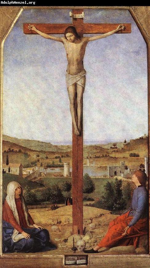 ANTONELLO DA MESSINA (1430 - 1479) | Crucifixion