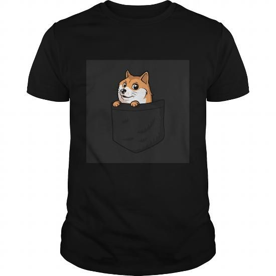 Awesome Tee Pocket Doge Shirts & Tees