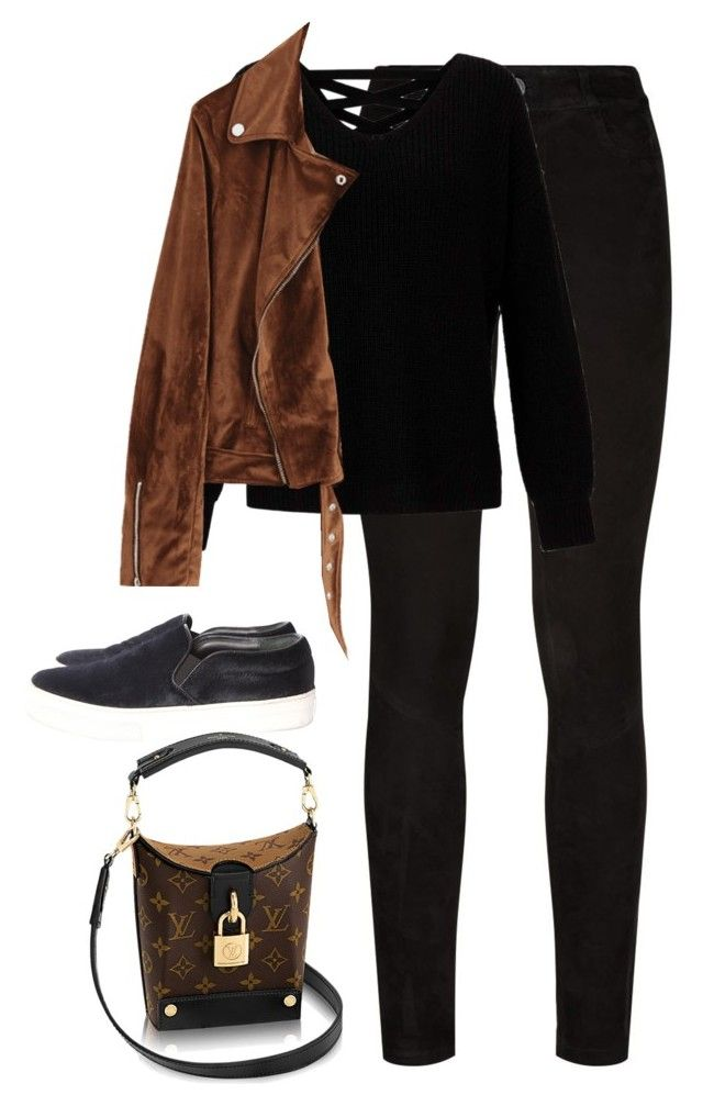 """""""Untitled #4596"""" by magsmccray on Polyvore featuring Paige Denim, Miss Selfridge and CÉLINE"""