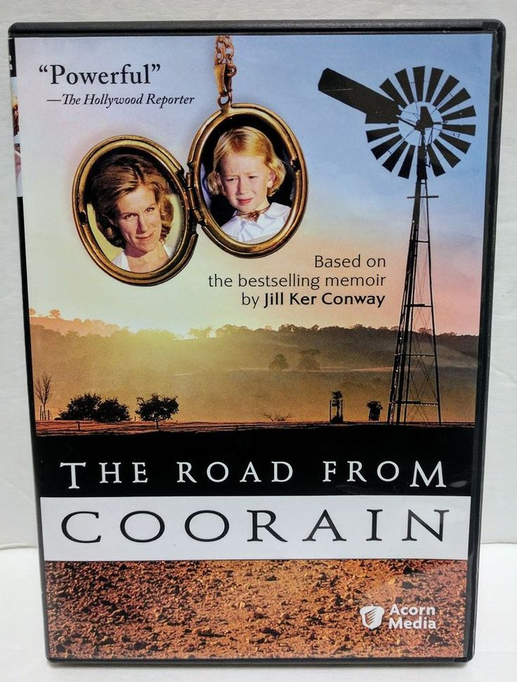 The Road From Coorain (DVD) Jill Ker Conway Memoir Juliet Stevenson Acorn Media