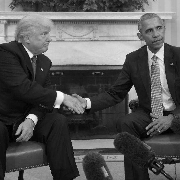 Body Language -  President Barack Obama welcomed Donald Trump to the White House today to discuss the transition from one administration to the next -    Picture: Jim Watson/AFP/Getty