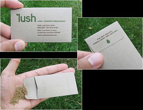 Garden Design Business Cards 14 best business card ideas images on pinterest | card ideas
