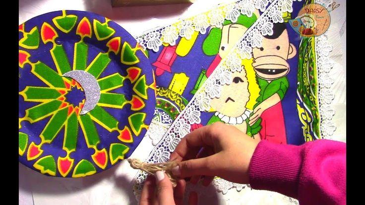 زينة رمضان من ديزي Daisy Ramadan Decorations Tutorial Fabric Crafts Crafts Fabric