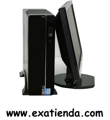 Ya disponible Pc GDX sff office pro i33245 i3 3220 4gb 500gb rwdvd lt   (por sólo 327.95 € IVA incluído):   Equipo GDX con tecnología I3 , pensado para dar una solución económica y ergonómica a sus necesidades tanto en entornos de trabajo como domésticos.  - Procesador: Intel CoreI3-2120 (2 núcleos) - Memoria:DDR3 Kingston 4Gb/1333 MHz - Disco duro:500GB S.ATAIII (6Gbps) - Optico:Regrabadora DVD DL - Otros: Audio/USB frontal y Lector Tarjeta Lateral  -Monitor, tecla