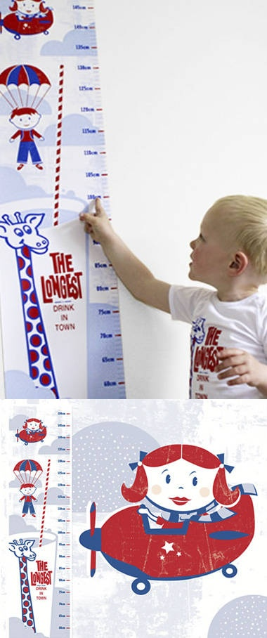 kiwiana :) kiddie measuring stick