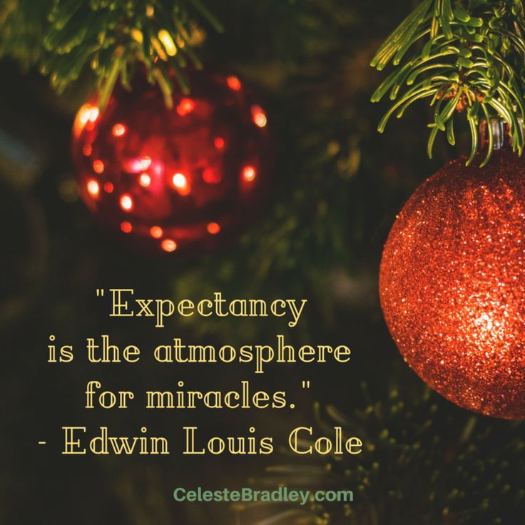 """Edwin Louis Cole - """"Expectancy is the atmosphere for miracles."""""""