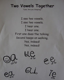 like the vowel song