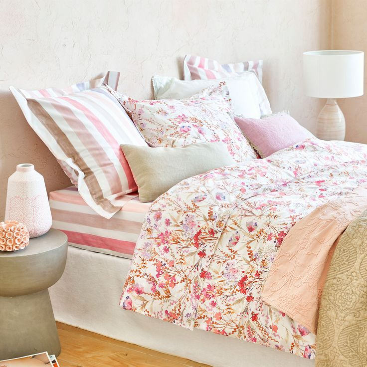 Image 4 of the product Multicoloured floral print duvet cover
