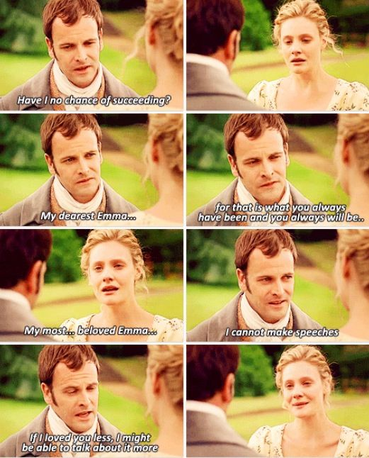 Some Jane Austen quotes on gender differences