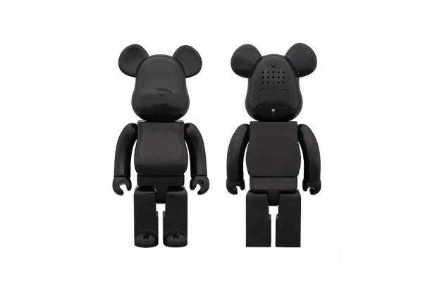 Medicom Toy 400% Ver BLACK Aroma Diffuser Bearbrick.: 28Cm Tall, Aroma Diffuser, Diffuser Bearbrick, Black Aroma, Second Version, Bearbrick Aroma, Version Features, Exterior Free, Black Version