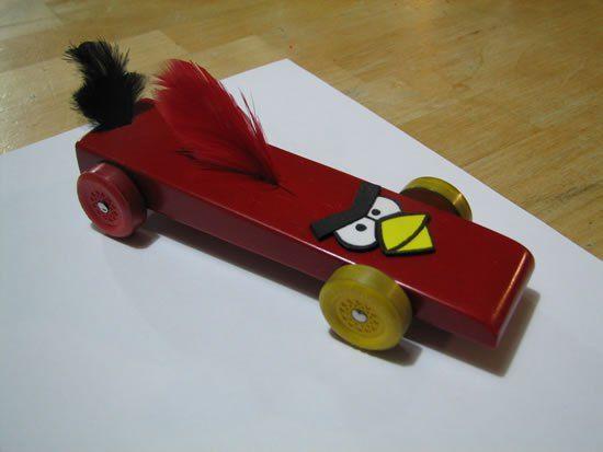 Wonderful Pinewood Derby Car