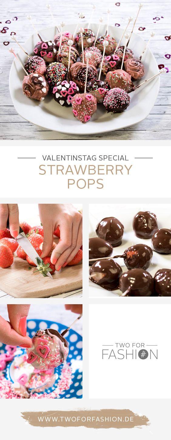 Ihr seid noch auf der Suche nach einem individuellen und persönlichen Liebesbeweis für euren Liebsten zum Valentinstag? Wie wäre es mit diesen super leckeren Strawberry Pops?
