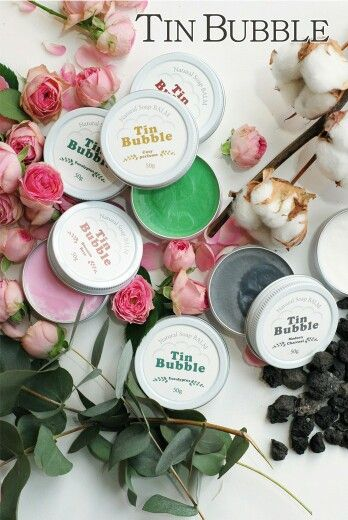 Tin Bubble Korea Natural Soap BALM