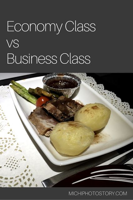 Economy Class Vs Business Class Of Philippine Airlines
