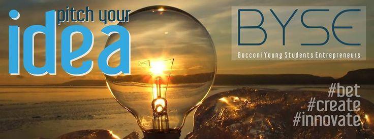 La Call per il secondo Pitch organizzato da Byse (Bocconi Young Students Entrepreneurs)