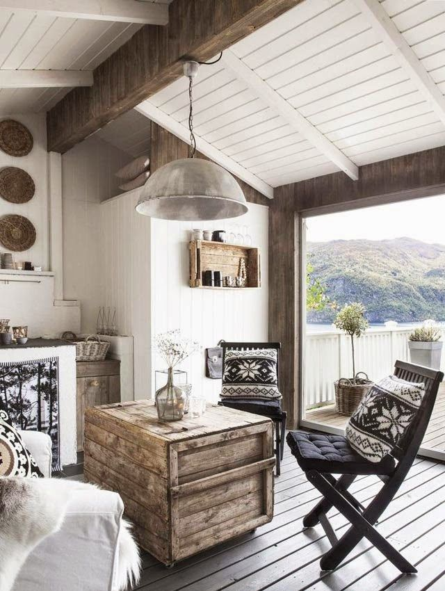 my scandinavian home: The rustic Norwegian cabin hide-away