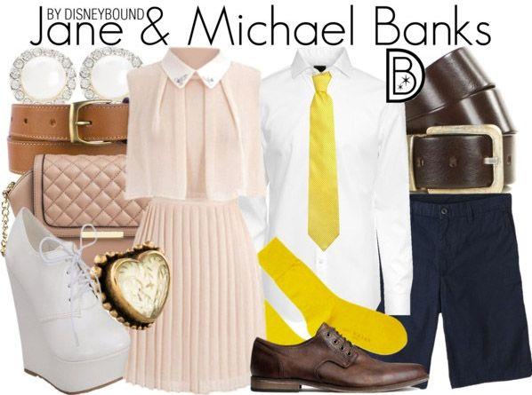 Disneybound: Jane & Michael Banks