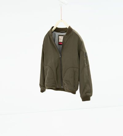 Bomber jacket-JACKETS-GIRL | 4-14 years-KIDS | ZARA United States