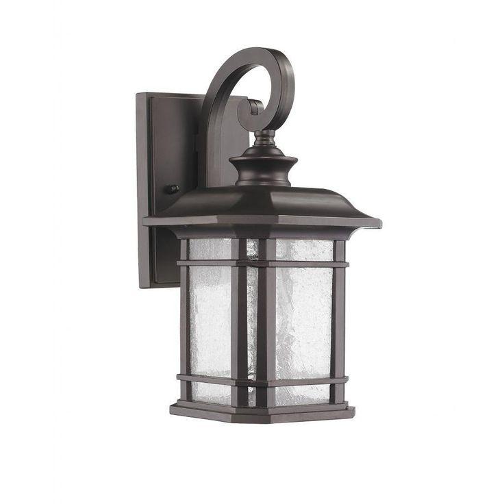 Transitional Weatherproof 1-light Bronze Outdoor Wall Light Fixture - Overstock Shopping - Big Discounts on Wall Lighting