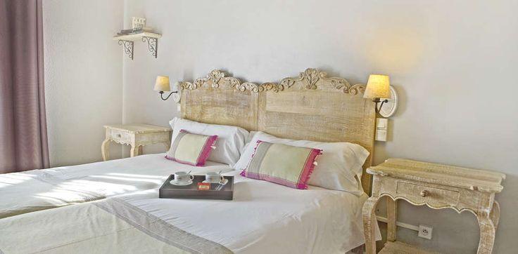 Habitación doble. Idea para invitados. Hôtel Spa la Lune de ...