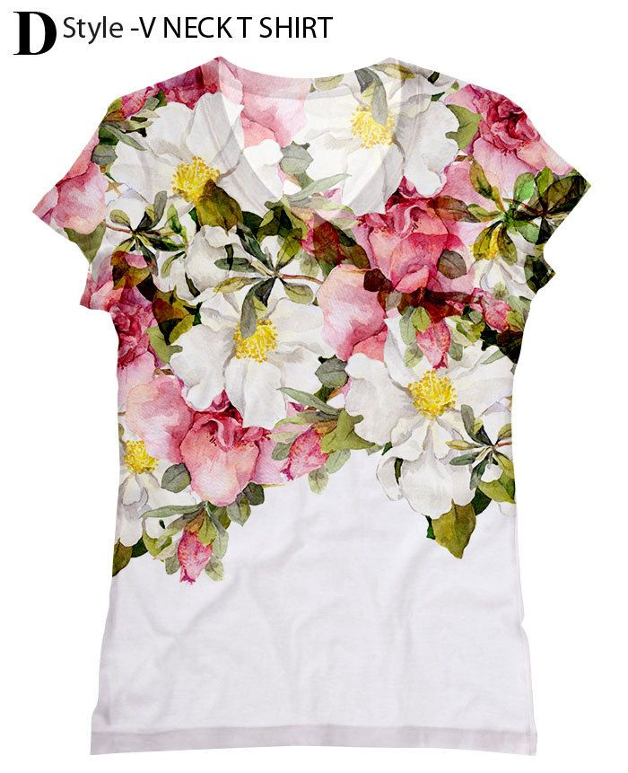 woman  PLUS SIZE beautiful Roses print top, t shirt and tank by hellominky(6-201) xs - plus size by hellominky on Etsy