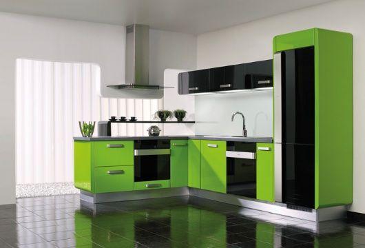 Gorenje kuhinja Delta - duh savremenog načina života. Lakirani medijapan u visokom sjaju, 312 boja