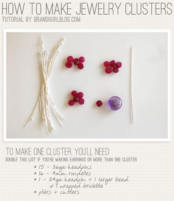 Art Bead Scene Blog: On the 5th Day of Christmas: How to make jewelry clusters
