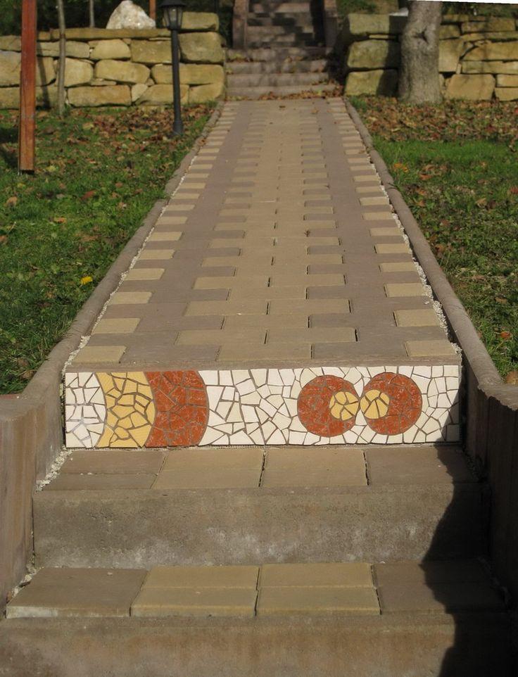 Mosaic stair