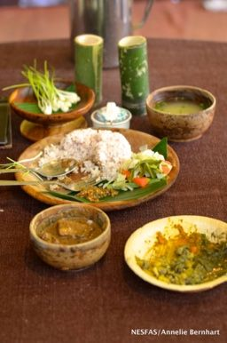 Traditional Khasi Food Platter