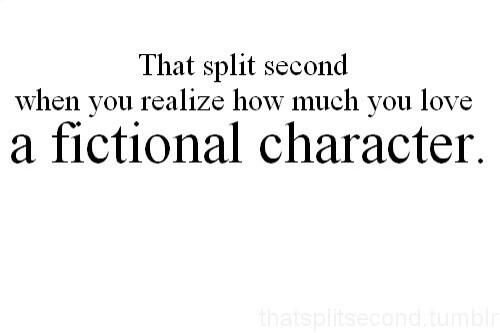 the list of fictional characters are endless