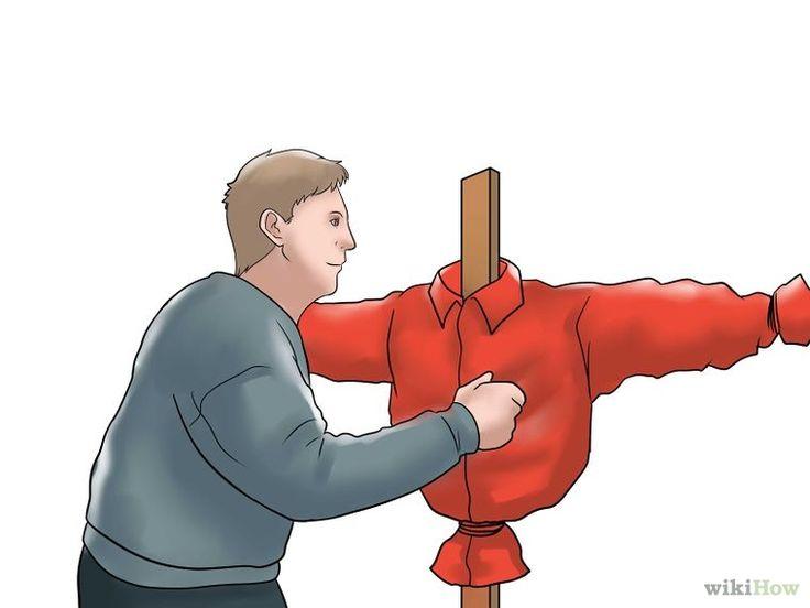 3 manières de faire un épouvantail - wikiHow