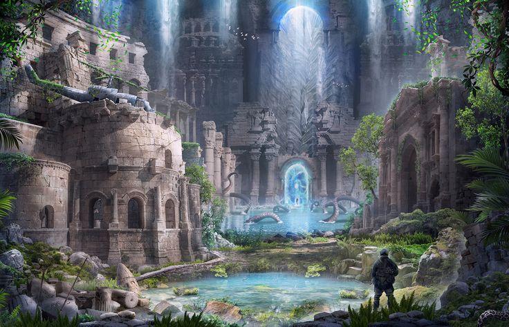ArtStation - Ancient Civilizations: Lost & Found part 2, Alex Feliksovich