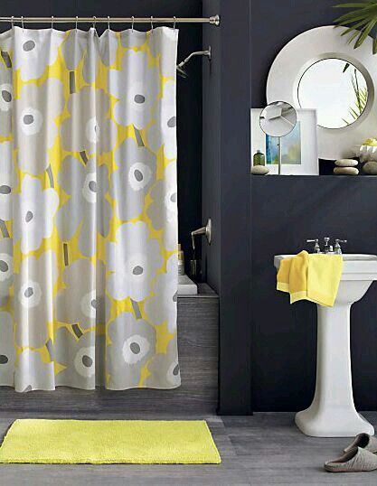 Bathroom Decorating Ideas Gray And Yellow 121 best yellow  like a smile images on pinterest | yellow